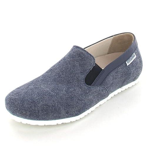 Birkenstock - Mocasines de Material Sintético para Mujer Azul Azul Marino: Amazon.es: Zapatos y complementos