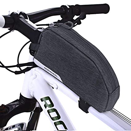 Allnice Bike Bag Bicycle Top Tube Bag 1L Capacity Cycling Front Frame Bag Bike Triangle Pannier Pouch for Outdoor Accessories