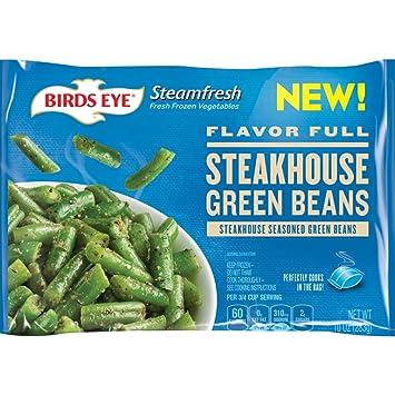 Sensational Birds Eye Steamfresh Flavor Full Steakhouse Seasoned Green Beans 10 Ounce Frozen Caraccident5 Cool Chair Designs And Ideas Caraccident5Info