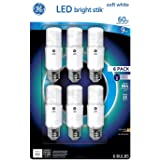 GE Bright Stik 9 Watt Non-Dimmable 2700K LED Bulb