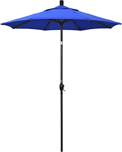 California Umbrella 6' Round Aluminum Market Umbrella