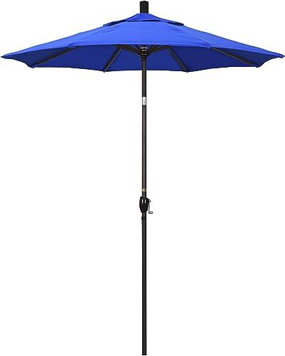 California Umbrella 6' Round Aluminum Market Umbrella