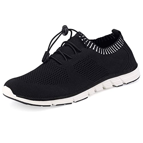 f4ec3f9eff31a SIKELO Women's Athletic Walking Shoes Casual Mesh-Comfortable Work Sneakers