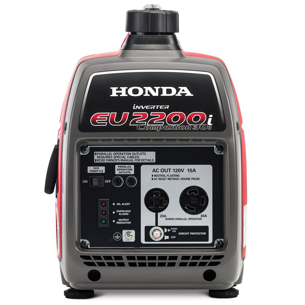 Amazon.com : Honda EU2200IC 2200-Watt Companion Super Quiet Portable  Inverter Generator : Garden & Outdoor