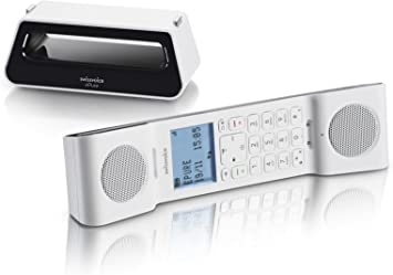 Swissvoice teléfono inalámbrico Negro/Blanco: Swissvoice: Amazon.es: Electrónica