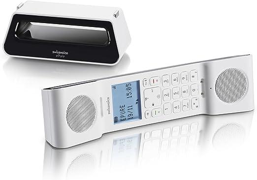 Swissvoice Schnurlostelefon Schwarz Weiß Elektronik