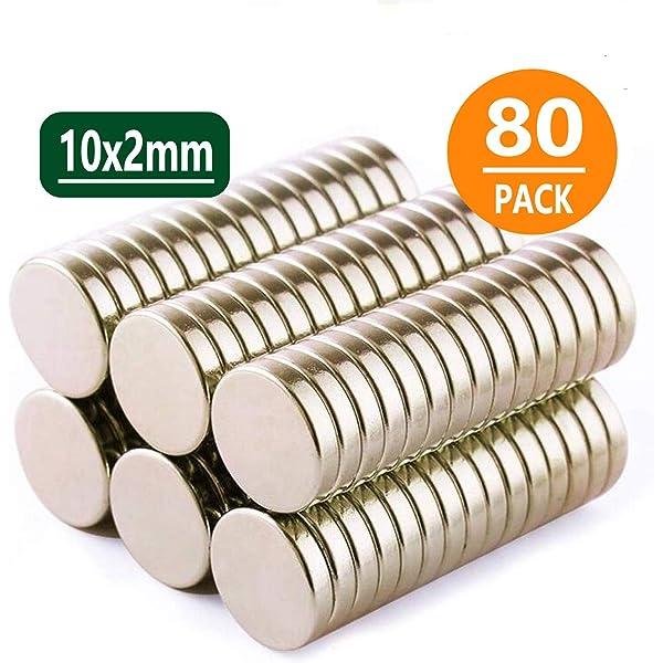 LOVIMAG Refrigerator Magnets 10 X 2 Mm 100 Piece