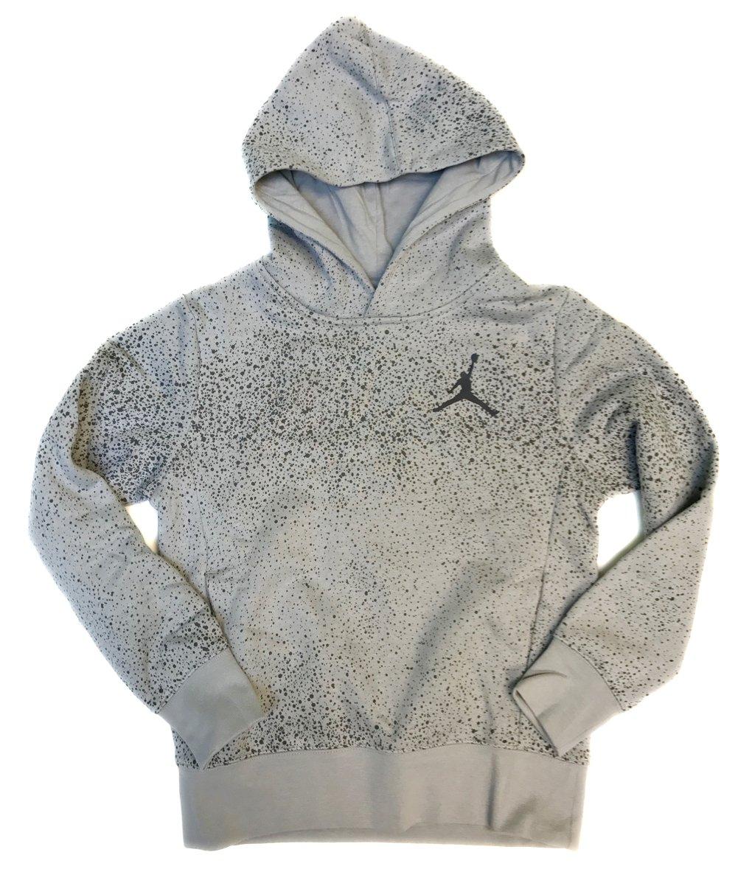 Nike Jordan Hoody for kids #954308 (M / 10-12, Wolf Grey)