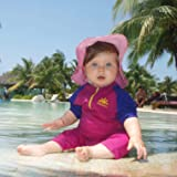 Nozone Fiji Sun Protective Baby Girl Swimsuit in