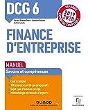 DCG 6 Finance d'entreprise - Manuel - Réforme 2019-2020: Réforme Expertise comptable 2019-2020