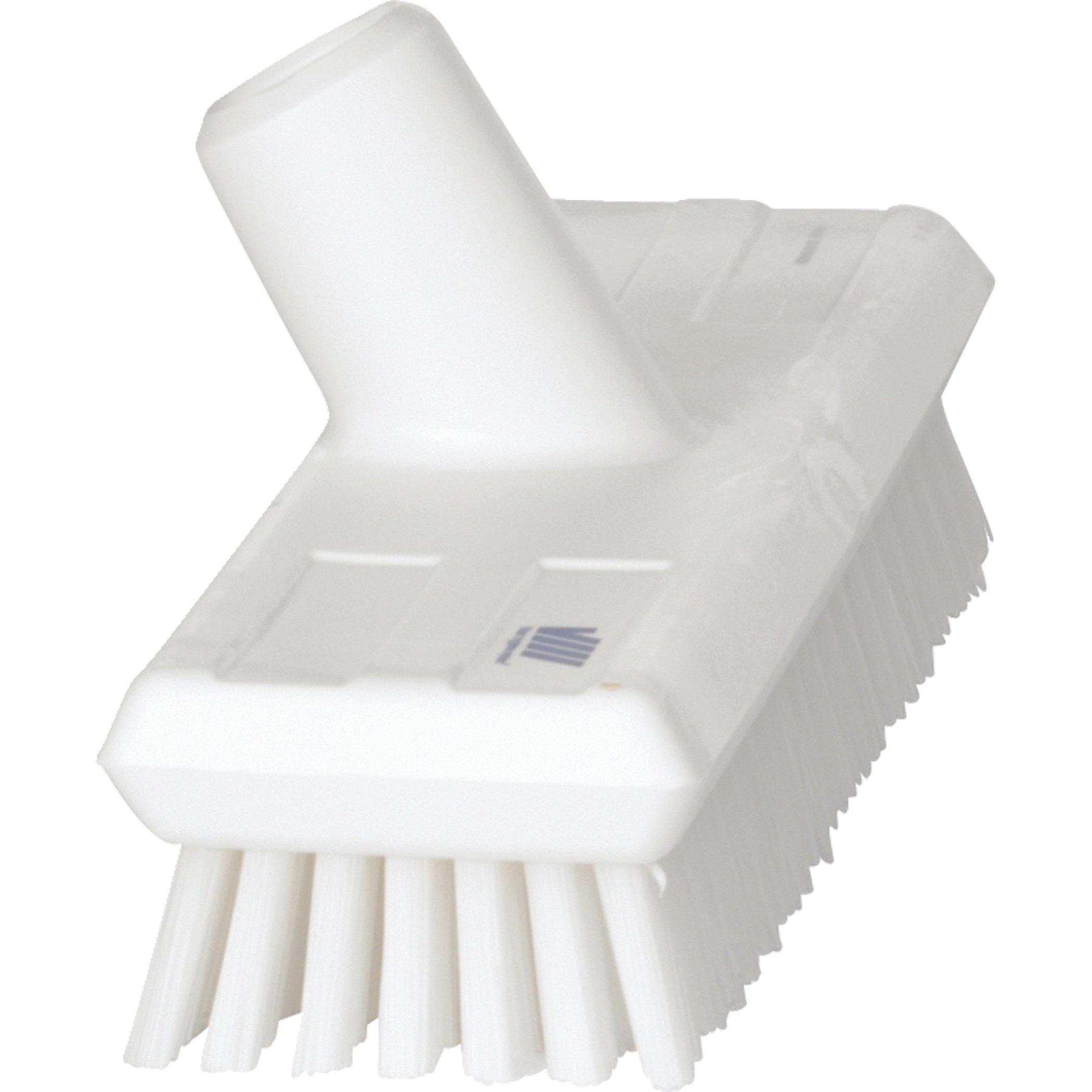 Deck Scrub Brush, 10-3/4''L, Stiff
