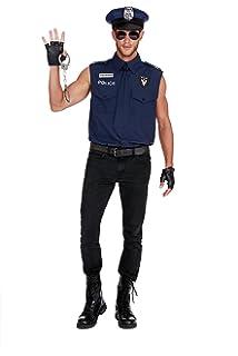 Amazon.com: Dreamgirl disfraz de policía sexy para ...