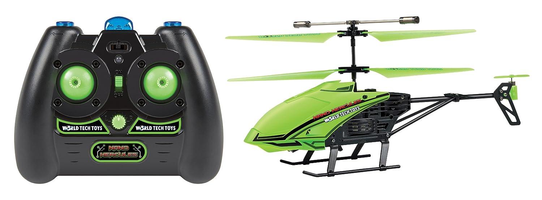 World Tech Toys 3.5 CH Gyro Glow In Dark Nano Hercules Unbreakable IR Helicopter