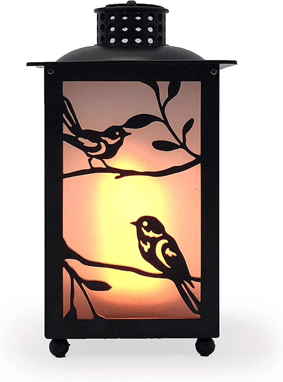 allgala LED Flame Effect Lantern Lamp