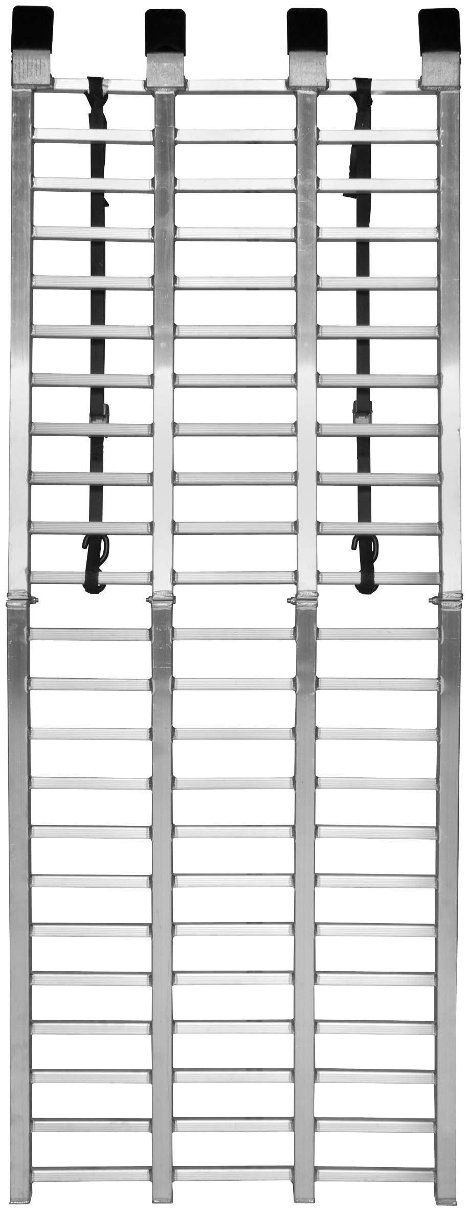 QuadBoss Aluminum Arched Ramp - Folding Wide Boy - 33in. W x 88in. L 3792