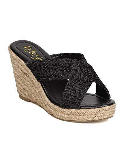 Women Espadrille Wedge - Dressy Casual on The Go - Platform Wedge Heel - GC70 by