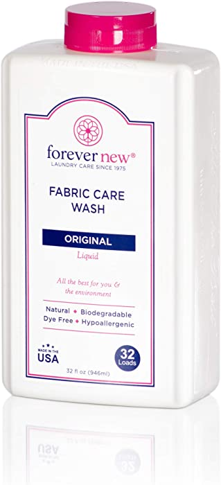 Forever New 32oz Liquid Original Scent Fabric Care Wash - Natural Laundry Detergent