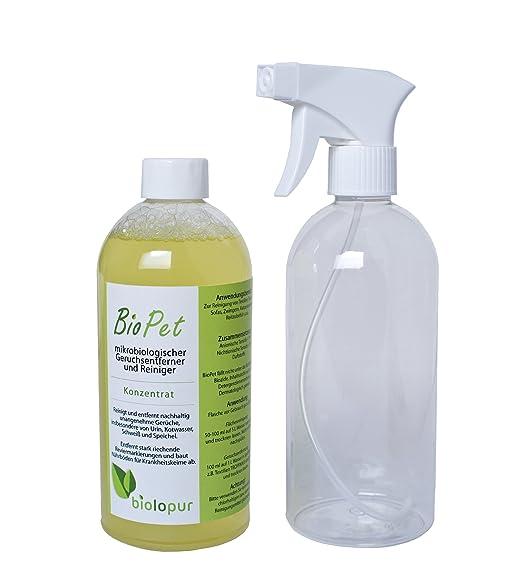 6 opinioni per Biolopur | 0,5 l di CONCENTRATO danno 5 l di preparato + flacone spray vuota |