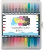 Artiste - 12 Stylos Aquarelle Double Pointe