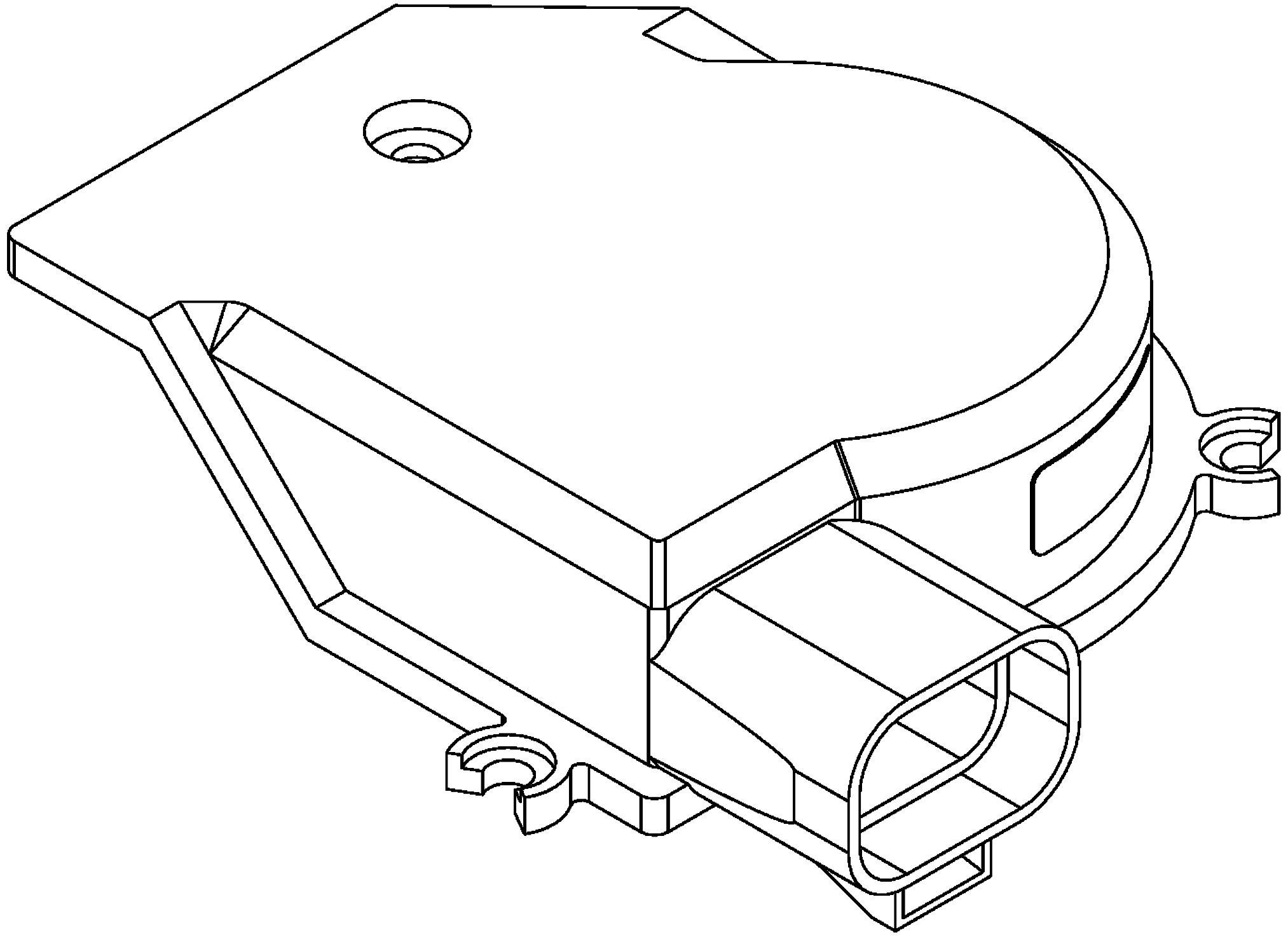 ACDelco 88958136 GM Original Equipment Windshield Wiper Motor Pulse Board And Cover