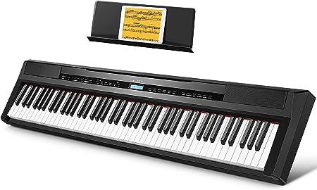 Donner Piano Digital Eléctrico con Teclado de 88 Teclas Full ...