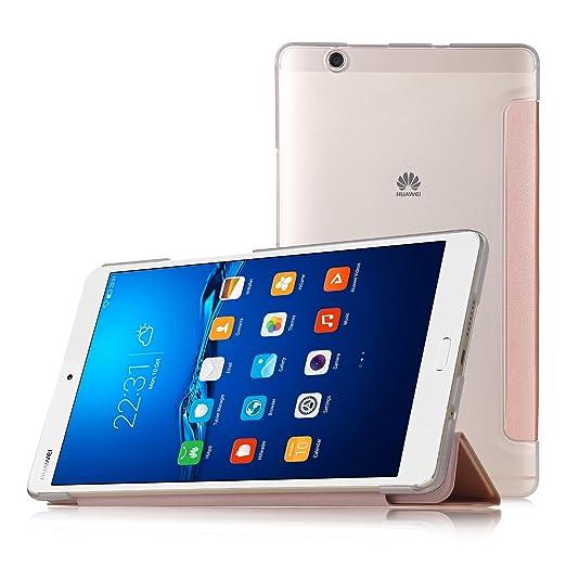 92 opinioni per IVSO Huawei MediaPad M3 8.4 Cover Custodia- Slim Smart Cover Custodia Protettiva