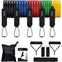 Deals on OMORC Resistance Bands Set Exercise Bands w/Handles