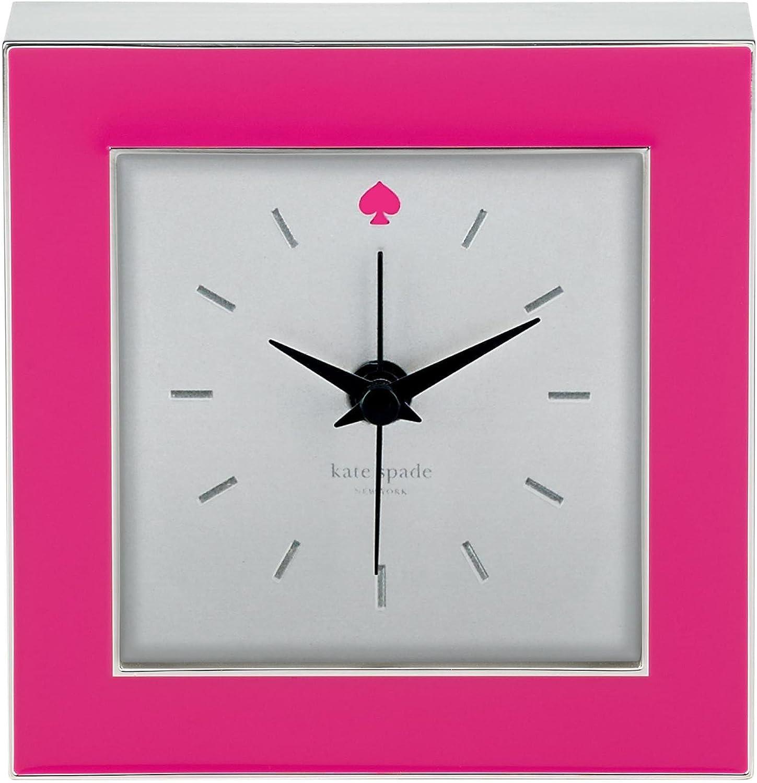 Kate Spade New York Cross Pointe Pink Clock