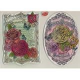 Viva Decor Papier en Silicone My World Tampon-Fleurs de Prentemps #96
