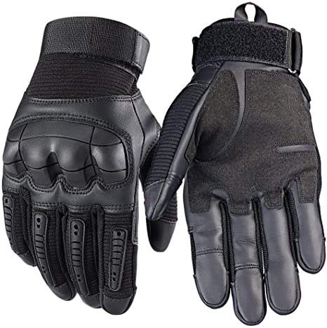 FUYUANDA Mens Full Finger Outdoor Sport for Motorcycle Work Cycling Hunting Climbing Camping Smartphone Touchscreen Gloves: Amazon.es: Deportes y aire libre
