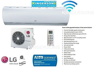 Amazon com: LG LS363HLV 3 TON 36000 BTU BTU High Efficiency