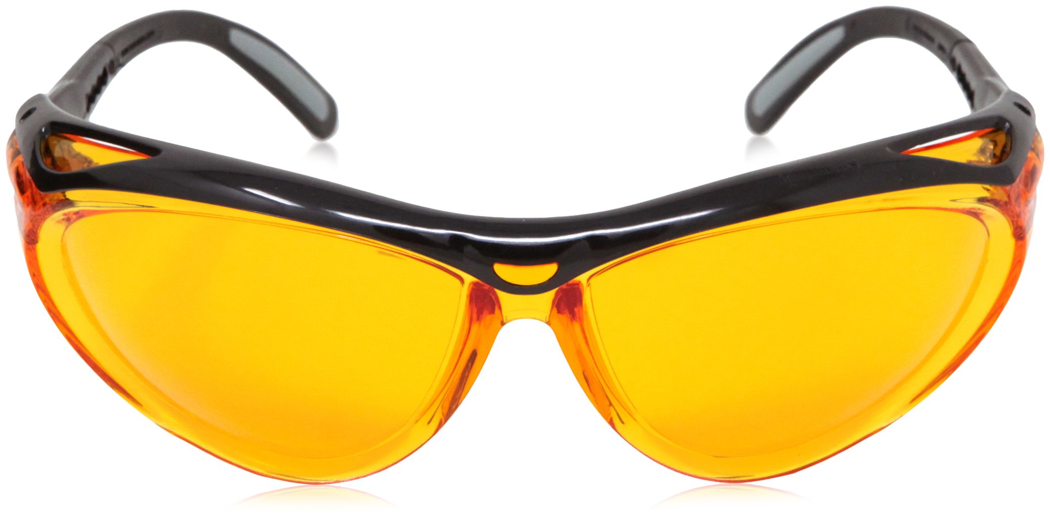 AmazonBasics Blue Light Blocking Safety Glasses, Anti-Fog, Orange Lens, 12-Count by AmazonBasics (Image #6)