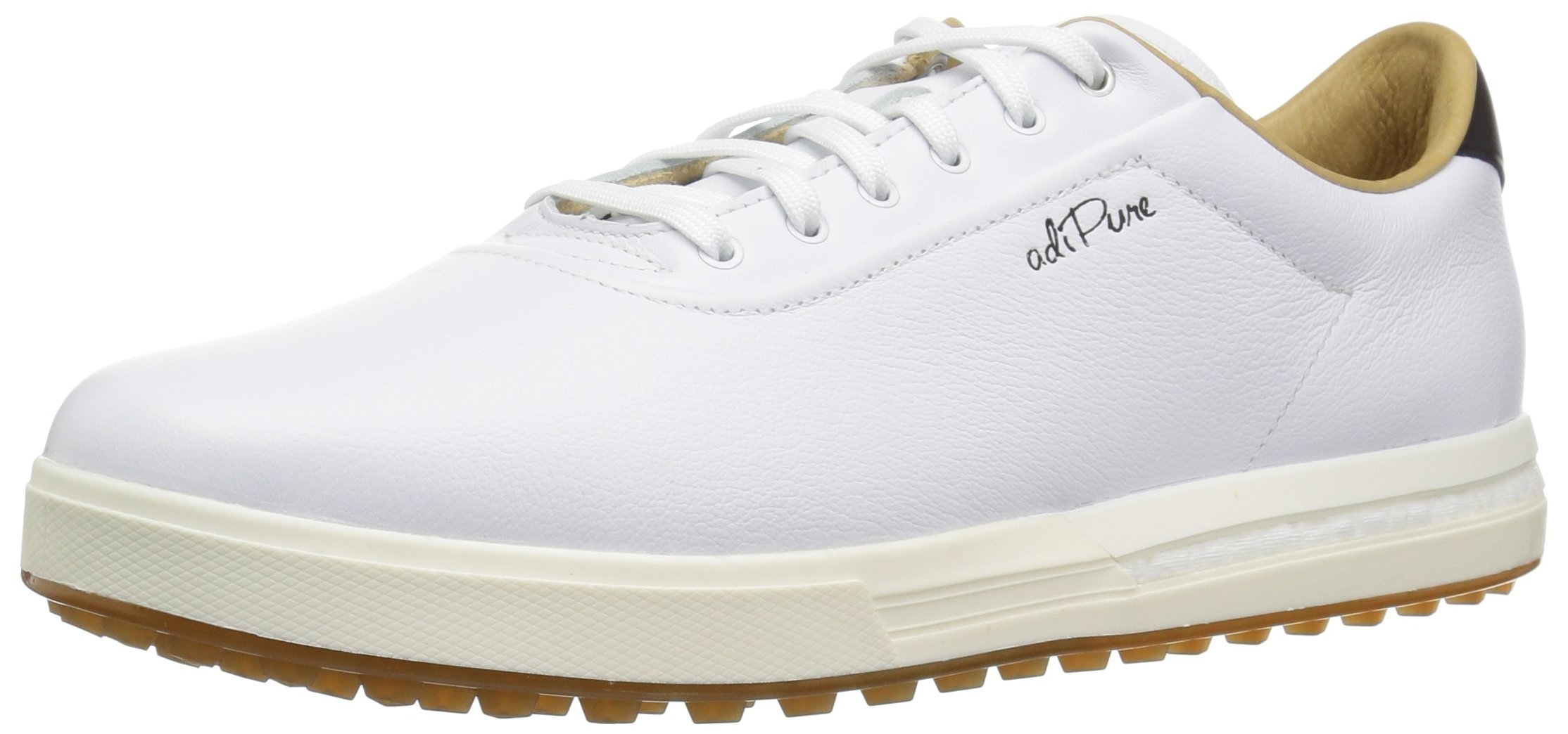 adidas Men's Adipure sp Golf Shoe, FTWR White/Grey Two, 9 Medium US by adidas