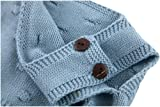 Eiffel Direct Baby Girls Knit Striped Polka Dot