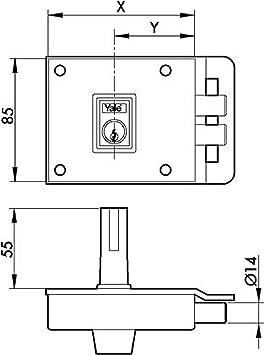 30/mm Azbe 45-a//67/ /Zylinder rund