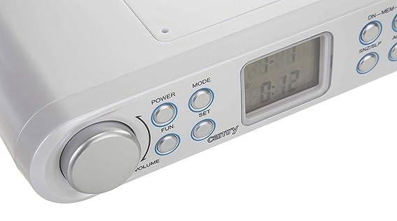 Camry CR1124 - Radio de Cocina, Color Blanco: Amazon.es: Electrónica