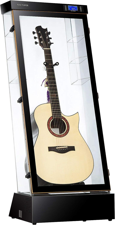 KIM POWER JT001 - Carcasa para guitarra (humedad constante), diseño de guitarra: Amazon.es: Instrumentos musicales