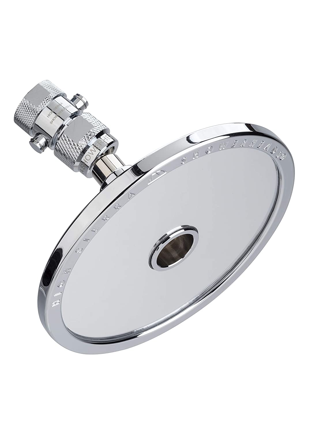 Guaranteed to Never Fog Made of Solid Aluminum that Naturally Heats Up While Showering High Sierra Showerheads High Sierras NEW Reflections Shower Head and Fogless Shaving Mirror In One