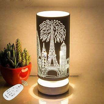 Unita Ist Noch Klein Tischlampe Schlafzimmer Nachttischlampen Dimmen Led  Eye Fashion Kreative Nachtlicht Dekoration