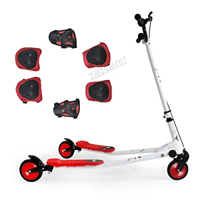 KMS FoxHunter Push Scooter Swing Trike Slider Drifter ...