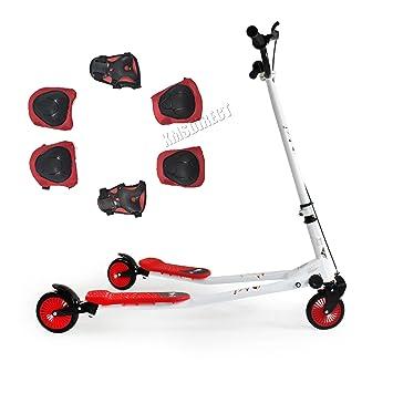 KMS FoxHunter Push Scooter Swing Trike Slider Drifter ...