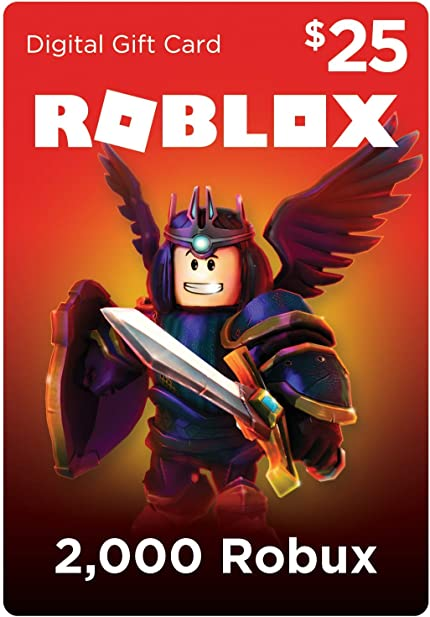 Amazoncom Roblox Gift Card 2000 Robux Online Game Code - how much robux can you get with 20 dollars do u get robux