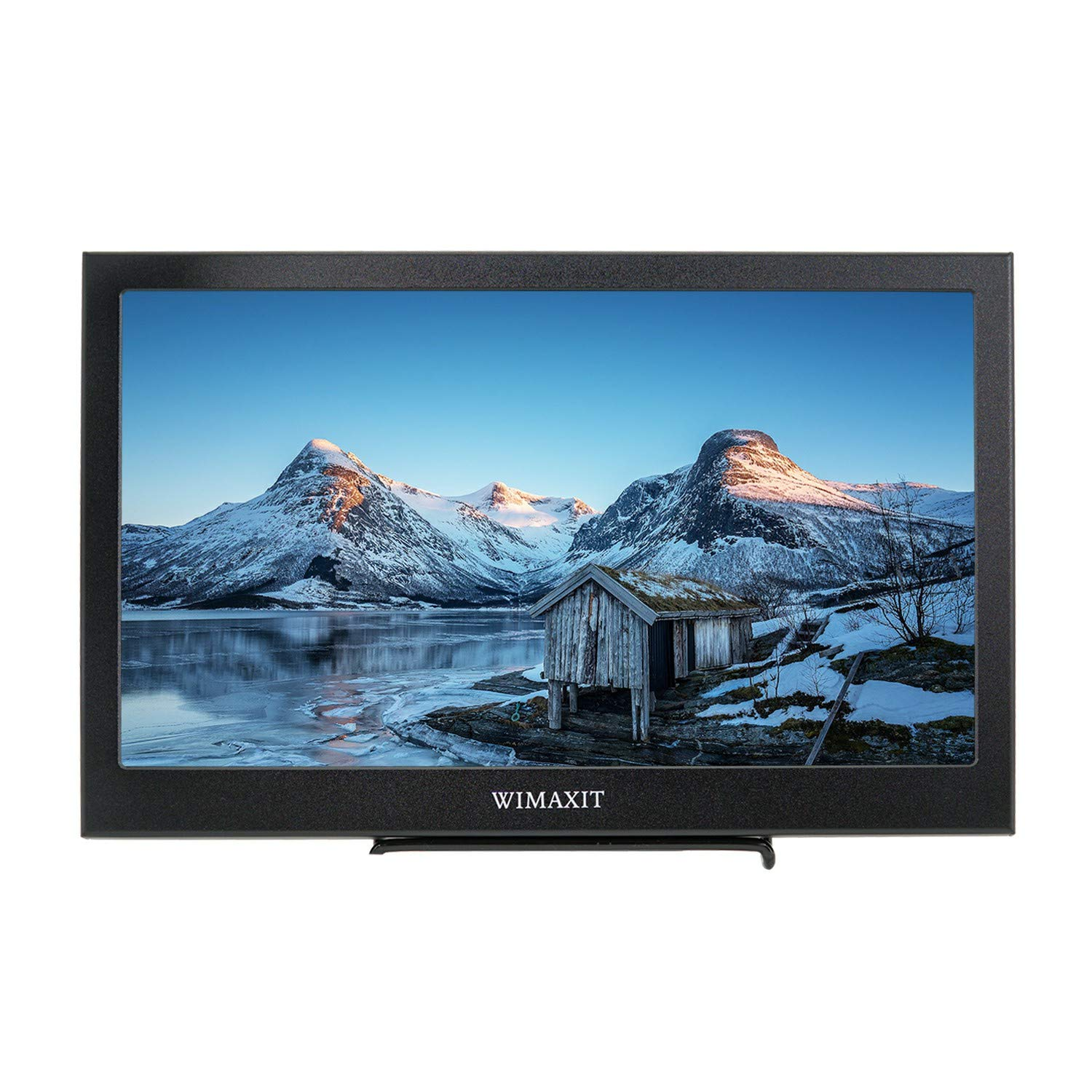 WIMAXIT 13.3 Inch VESA Monitor, FHD IPS 1920X1080 16 9 Display 75mm Mount External Screen for PC PS3 PS4 Xbox Laptop,Gaming