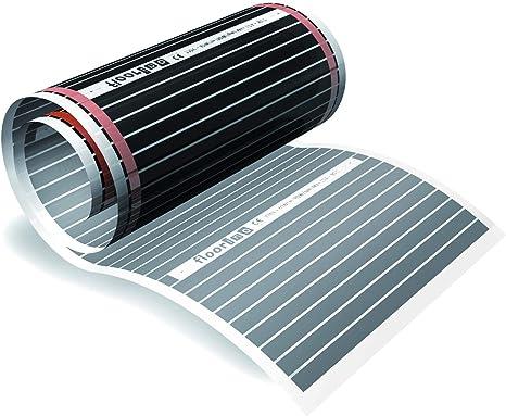 9m2 Fu/ßbodenheizung Set Elektrische Infrarot Heizfolie f/ür Laminat /& Parkett 220W//m2 speziell f/ür Sie entworfen und montiert