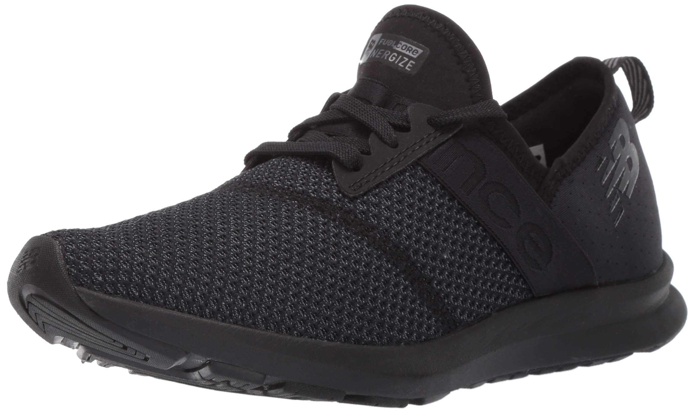 New Balance Women's Nergize V1 FuelCore Sneaker,BLACK,5 B US