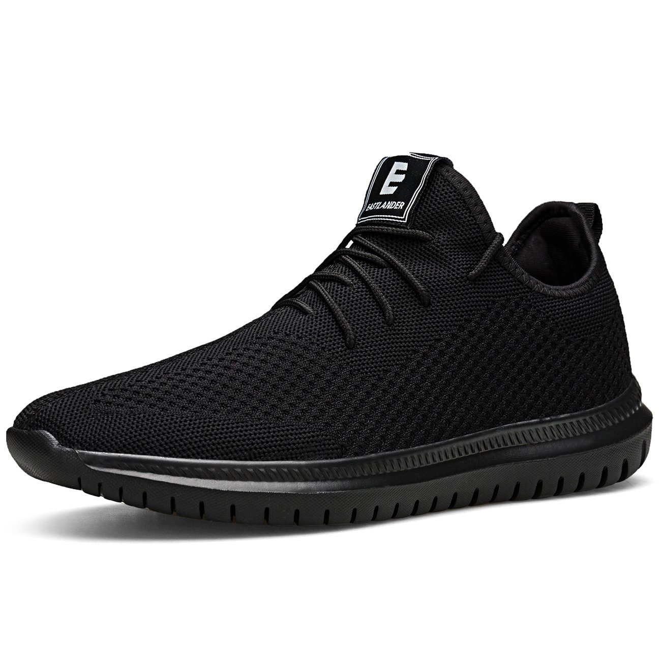 EAST LANDER Sneakers Men Women Lightweight Athletic Walking Shoes Casual Sneakers Lace-up Running Sports Shoes SPT002-U1-43