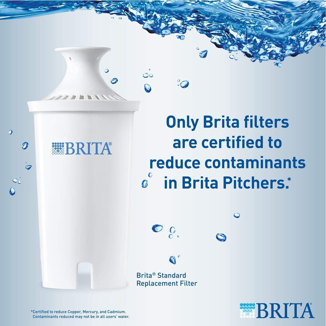 Brita Value Pack 3 Filters with 1 Sport Bottles 20 Fl.Oz
