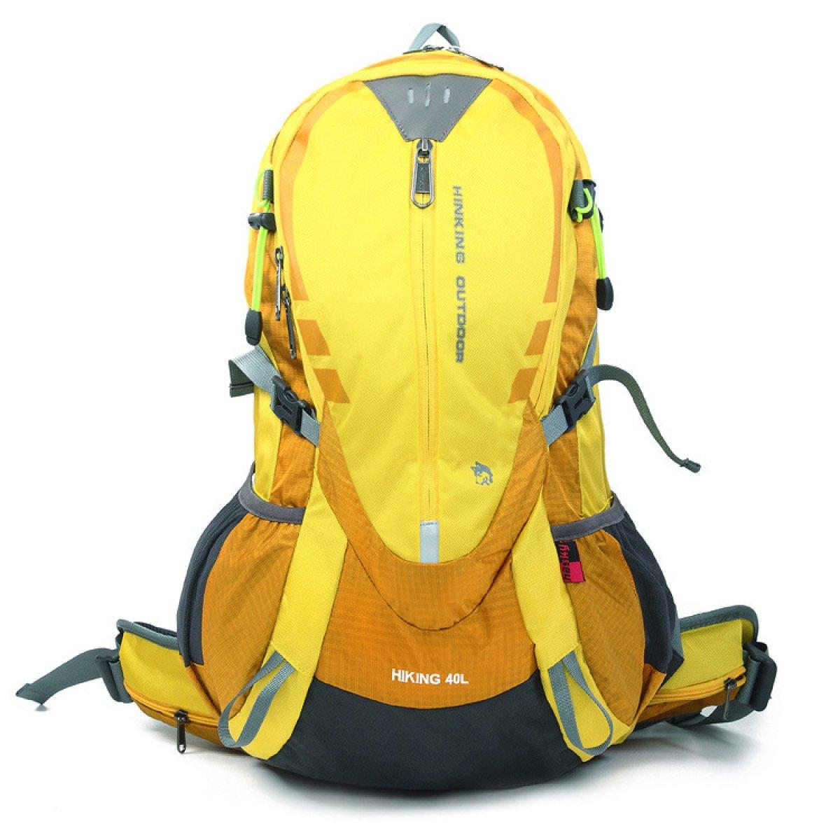 DUYANGANG Trekking Nylon Tocar Impermeable Montañismo 40L,Amarillo-OneSize Bolsa Deportes Mochila 40L,Amarillo-OneSize Montañismo be84ee
