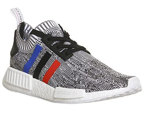 33280fb76fe8b Adidas NMD R1 PK Primeknit Tri-Color Grey White Multi BB2888 (4.5 ...