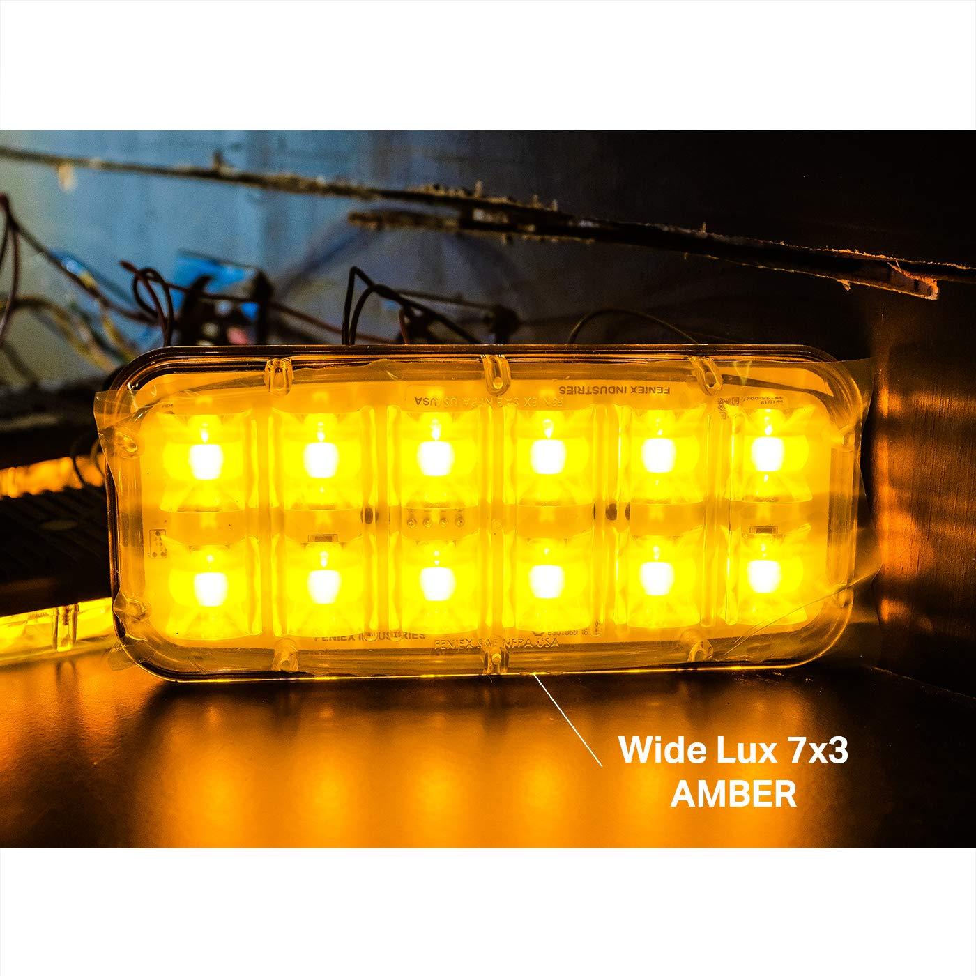 7x3, Blue Feniex A-3700 Wide-LUX